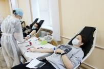 Было проведено 1708 донаций крови в выездных условиях