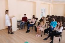 Тренинг по оказанию первой медицинской помощи для волонтёров