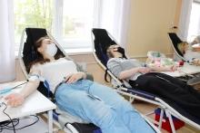 Студенты БГУ стали донорами крови